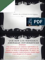 Riesgos de La Información Electrónica