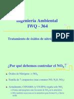 Clase 5 - IWQ 364 Remocion de Óxidos de Nitrógeno