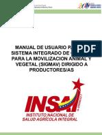 Manual FInal Sigmav
