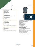 TECOM Pressure Regulator