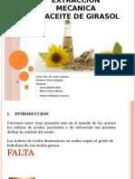 Extraccion Mecanica Aceite de Girasolppt