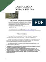 ODONTOLOGIA VETERINARIA Introducción y Periodoncia Dr. Alejandro De la Cruz.pdf