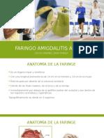 Faringo amigdalitis aguda