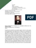 Discurso Bello Fundacion Universidad de Chile
