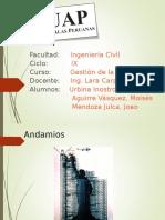 Andamiaje Expo