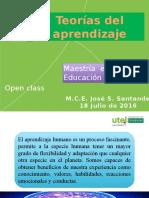 001 Open Class Teorias Del Aprendizaje 1