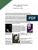 Pobre, Mujer y Negra Ella Fitzgerald