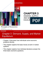Chapter 3-Demand, Supply and Market Equilibrium