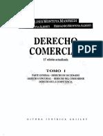Derecho Comercial de Montoya I-II