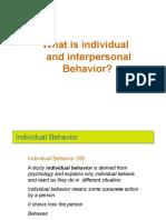 1 Individual Behavior _ SW