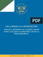 Informe Defensoria Del Pueblo Sobre Pasivos Ambientales