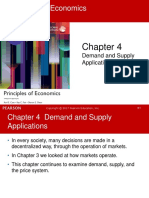 Chapter 4 Demand Supply Applications Economic Surplus Supply