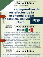 Estudio Comparativo de Los Efectos de La Economía Global en México, Bolivia y Brasill OK