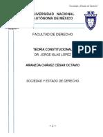 Sociedad y Estado de Derecho. Derecho Constitucional
