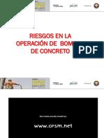 6 Riesgos en La Operacion de Bombeo de Concreto