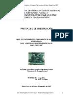 Protocolo Investigacion Cir Gral