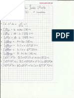 Formulas Integrales