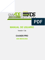 CivilADS PRO Manual de Usuario