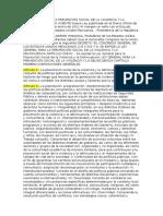 Ley General de La Prevencion.