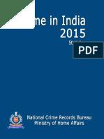 NCRB Statistics 2015