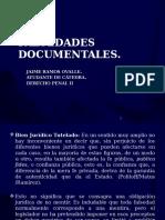 Falsedad Documental