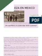 Pobreza en Mexico...