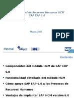 Presentación HCM Ecc 6 0 - 10032012
