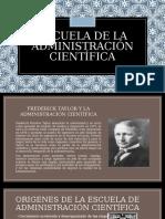 Escuela de La Administración Científica (1)