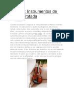 Violines Instrumentos de Cuerda Frotada