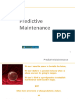 Predictive Maintenance - Thinking Forward