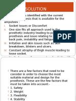 Prostesis Method