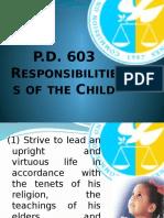 Responsibilities of Children