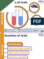 Reactions of Acids