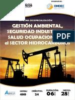 Gestión Ambiental, Seguridad Industrial y Salud Ocupacional en El Sector de Hidrocarburos