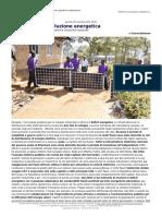 Africa La Rivoluzione Energetica