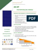 As 6P 310w Module Specification