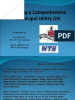 Building a Comprehensive Municipal Utility GIS