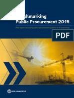 Benchmarking Public Procurement 2015
