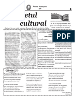Răsunetul cultural an IV nr 11 (44) noiembrie 2016