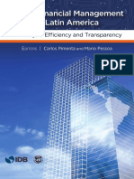 Public Financial Management in Latin America- The Key to Efficiency and Transparency,Gestion Financiera Publica en America Latina- La Clave de La Eficiencia y La Transparencia