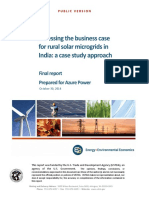 Azure Microgrid Project Final Report October 2014