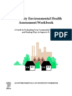 Community Environmental Health Assessment Workbook