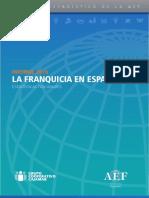 Informe Aef La Franquicia en España 2016