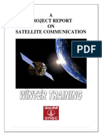 Project Report on SATCOM (ONGC)