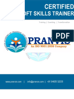 Pranvis-Soft Skills Trainer Certification