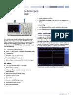 Tektronix TBS1000B Oscilloscope Datasheet