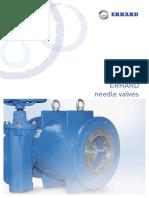 ERHARD Needle Valve Brochure