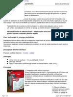 Plaquage Nano Plasma Laurentides