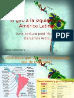 El Giro a La Izquierda en América Latina Auto