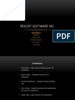 Resort Software Inc Pres